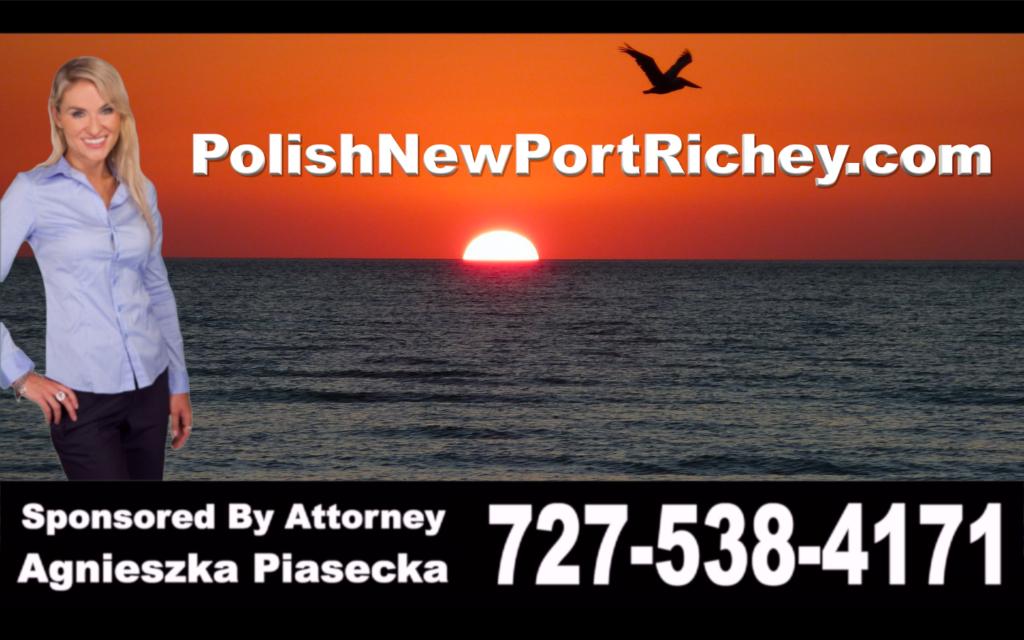 Polish, New Port Richey, Attorney, Lawyer, Florida, USA, Polski, Prawnik, Adwokat, Floryda, Agnieszka Piasecka, Aga Piasecka, Piasecka