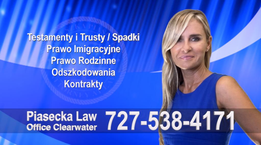 New Port Richey, Pasco, Florida, Polski, Prawnik, Adwokat, Floryda, USA, Polish, Attorney, Lawyer, Agnieszka Piasecka, Aga Piasecka, Piasecka Law, Piasecka